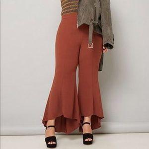 Forever 21 Plus BNWT Chestnut Flow Pants Size 3X!